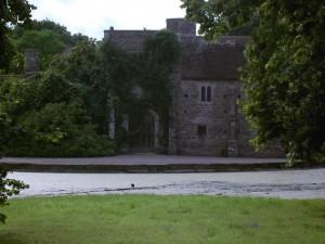 Figure 3. Cothay Manor Gatehouse; restored by Sir Harold Brakspear c. 1926-7