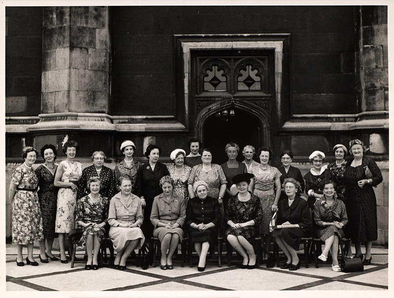 Women MPs elected in the 1959 General Election